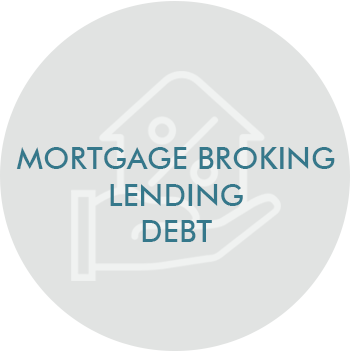 Mortgage Broking Lending Debt Icon
